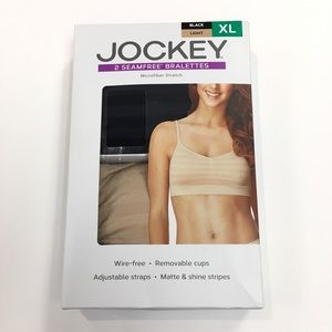 Jockey Women's 2 pk Seamfree Bralettes